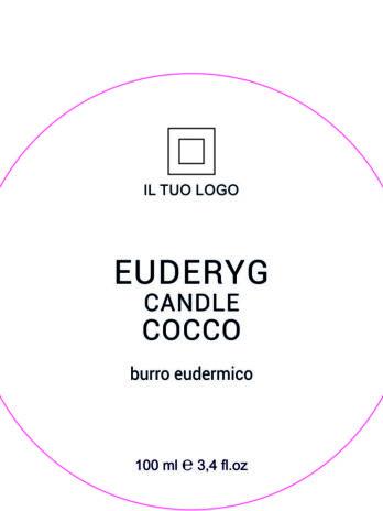 EUDERYG CANDLE COCCO burro eudermico