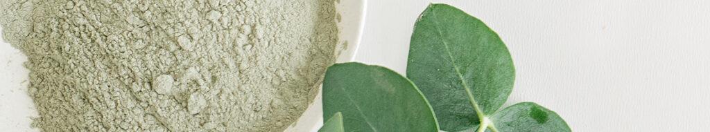 polvere naturale per trattamento benessere